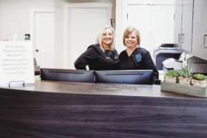 claxton family dentistry front office