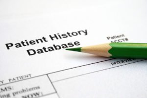 Patient history forms